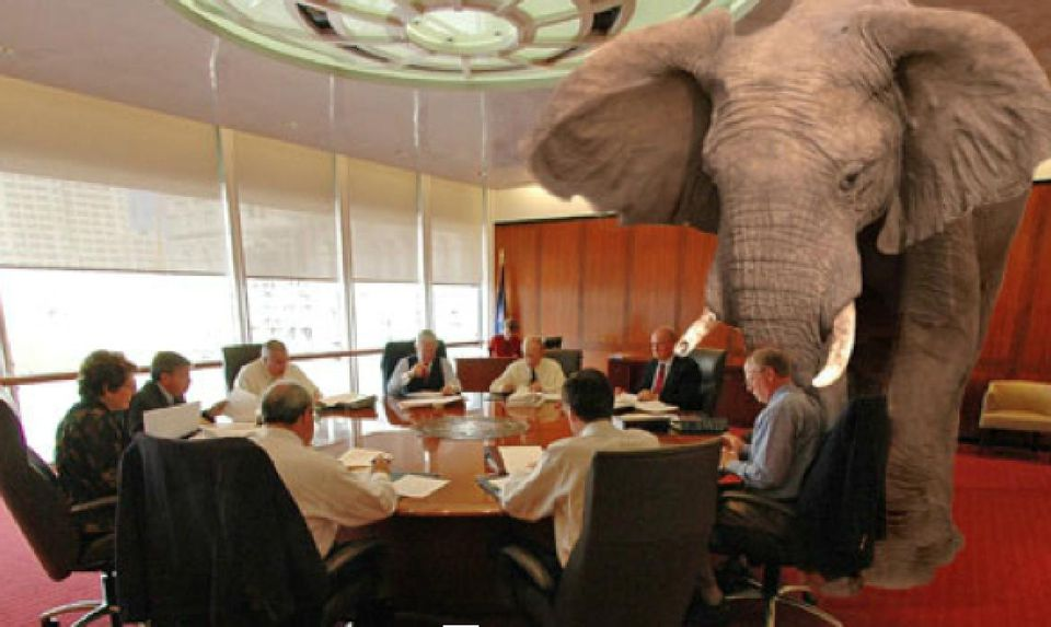 Elephant In Room That Needs To Be >> Imho Sunday The Elephant In The Room Wearesc