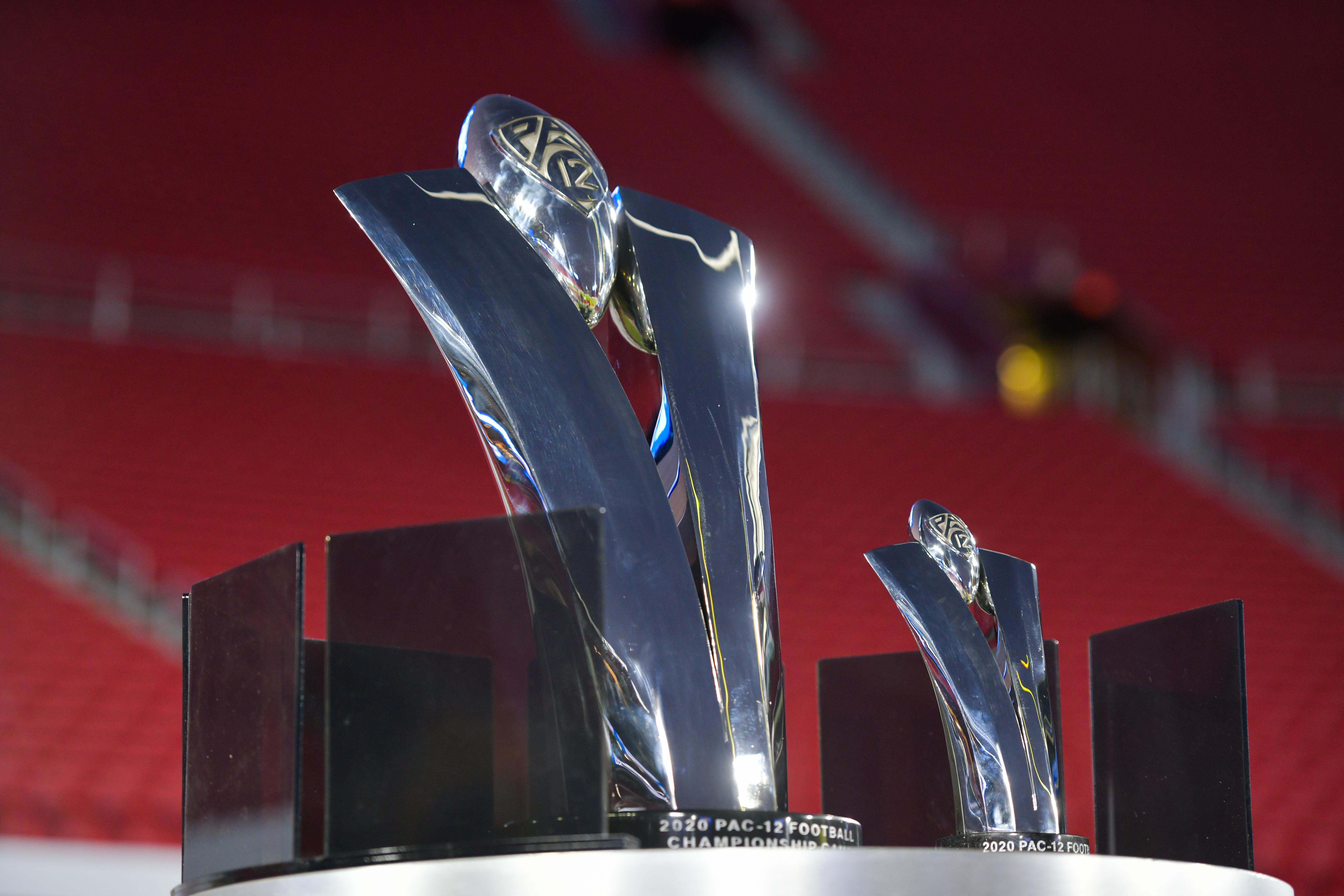 Pac-12 Championship trophy